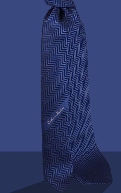 cravatta in seta milano marino