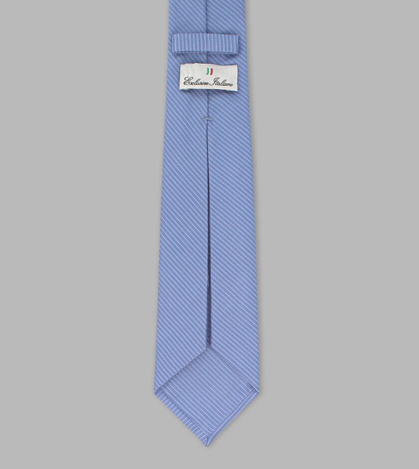 cerulean jacquard necktie