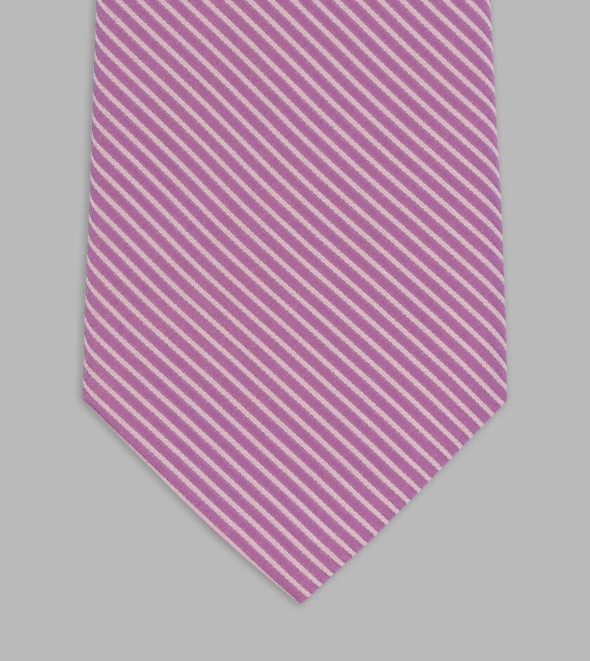 necktie jacquard malva