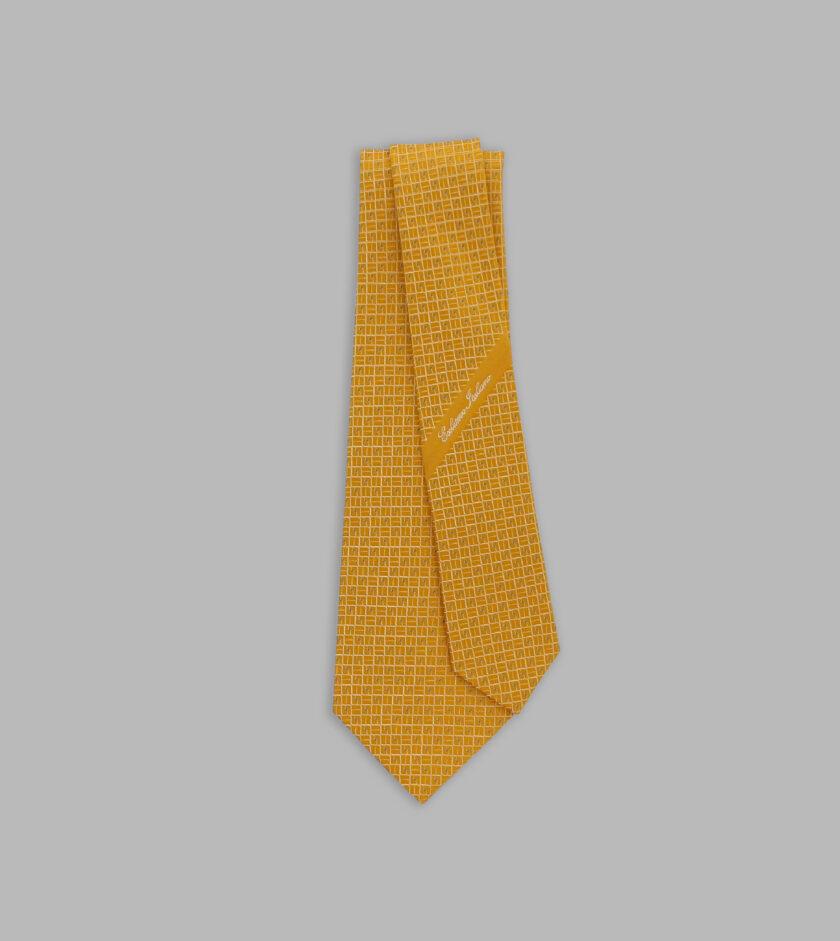 sole jacquard necktie