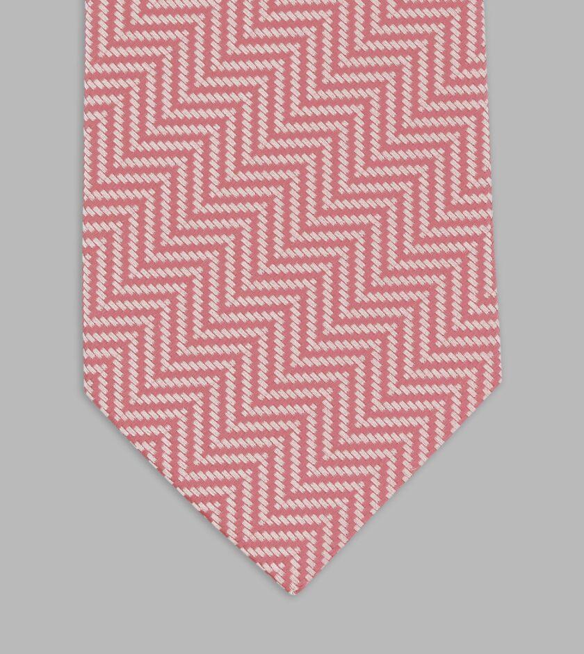cravatta jacquard aragosta