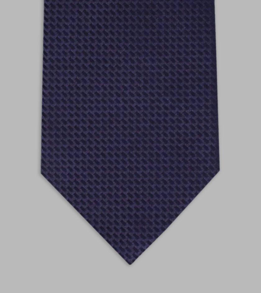 cravatta jacquard notte