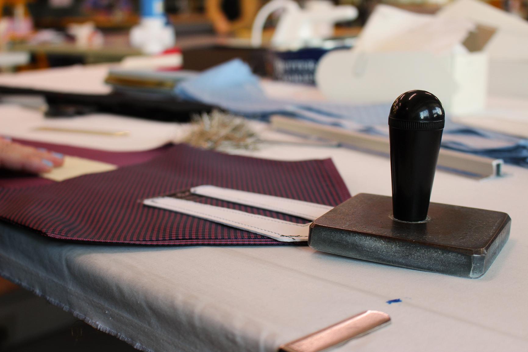 esclusivo italiano la cravatta sette pieghe