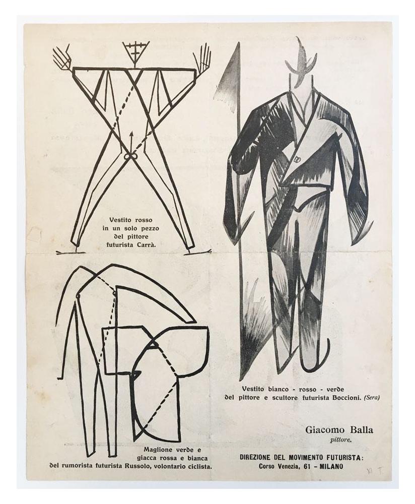 giacomo balla manifesto moda futurista