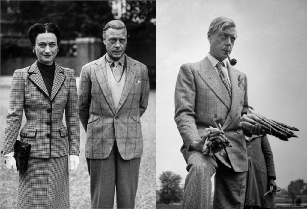 The Duke of Windsor and his wife Wallis Simpson