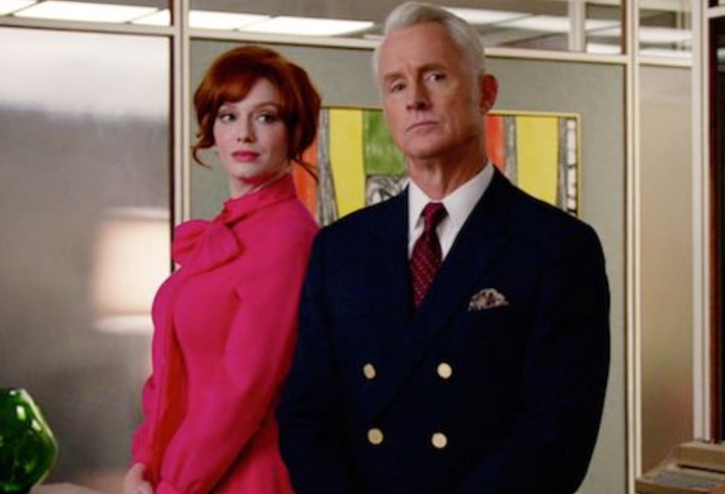 Roger Sterling and Joan Holloway