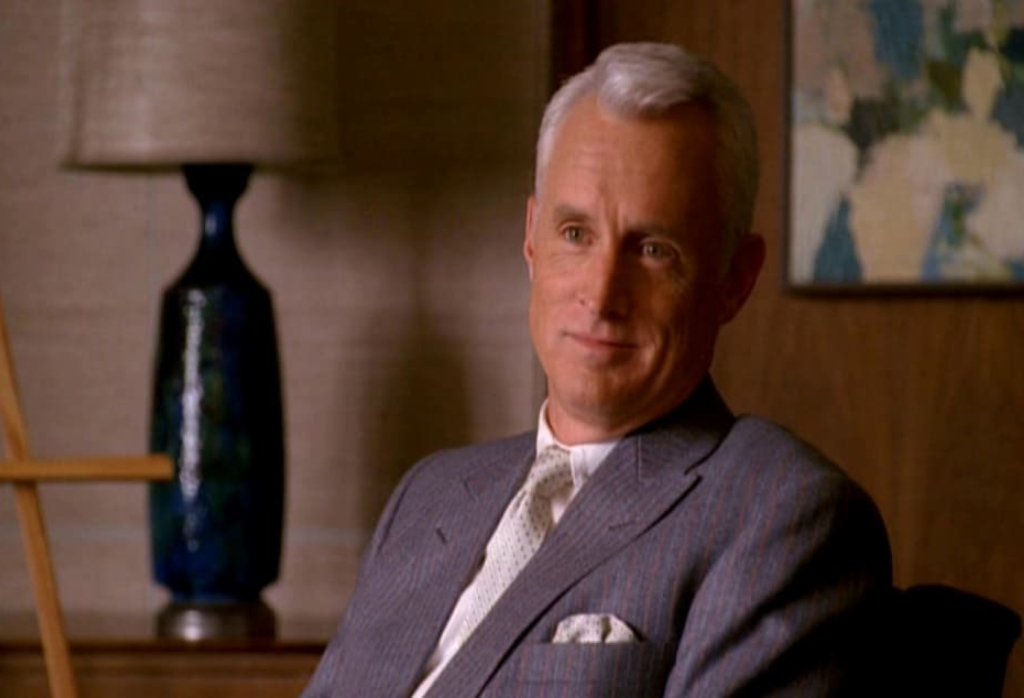 roger sterling ritratto
