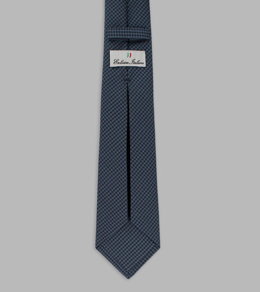cravatta madras blu