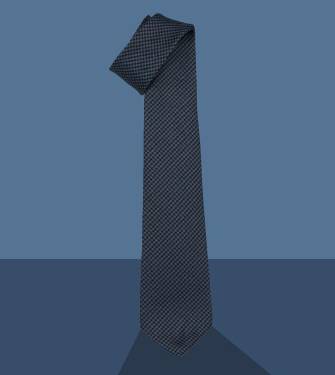 blue madras necktie