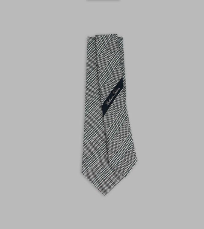 cravatta principe di galles petrolio